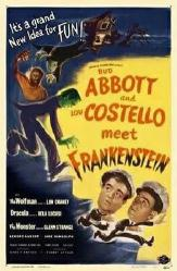 Abbott and Costello Meet Frankenstein movie poster (11'' X 17'') New