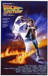 Back to the Future movie poster [Michael J. Fox] 11'' X 17'' poster