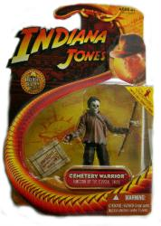 Indiana Jones Kingdom/Crystal Skull: Cemetery Warrior figure (Hasbro)