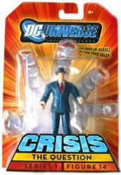 DC Universe [Crisis] The Question action figure (Mattel/2008) New