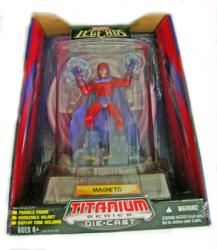 Marvel Legends [Titanium Series] Magneto Die-Cast figure (Hasbro/2006)