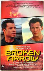 Broken Arrow paperback book/1996 [John Travolta, Christian Slater]