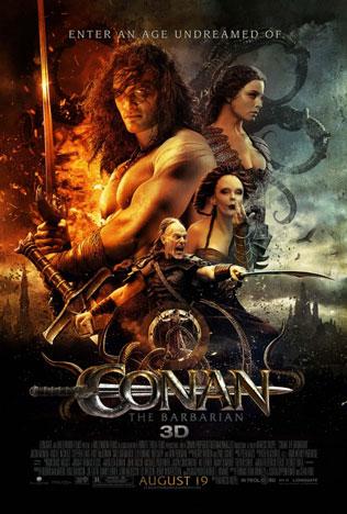 Conan The Barbarian 2011 Movie Poster 24x36