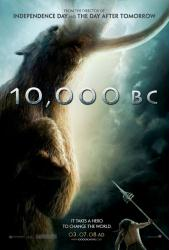 10,000 BC movie poster (Advance version) 27 X 40 original