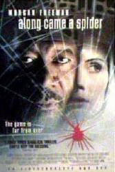 Along Came a Spider movie poster [Morgan Freeman, Monica Potter] 27x40