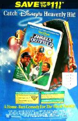 Angels In the Outfield movie poster [Christopher Lloyd & Danny Glover]