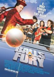 Balls of Fury movie poster /Dan Fogler/Christopher Walken/George Lopez