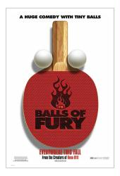 Balls of Fury movie poster (2007) original 27x40 advance