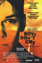 Boys Don't Cry movie poster [Hilary Swank] 26x40 video version