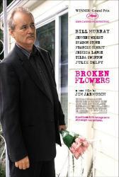 Broken Flowers movie poster [Bill Murray/Jim Jarmusch] 27x40 original
