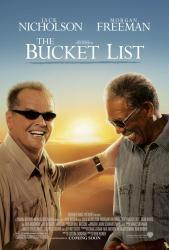 The Bucket List movie poster [Jack Nicholson & Morgan Freeman] 27 X 40