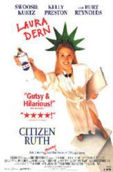 Citizen Ruth movie poster [Laura Dern] 26x40 video version