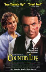 Country Life movie poster [Sam Neill, Greta Scacchi] 26x40