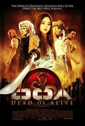 D.O.A. Dead Or Alive movie poster [Jaime Pressly] 27x40