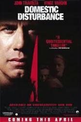 Domestic Disturbance movie poster [John Travolta] 27x40 video version