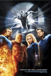 Fantastic 4: Rise of the Silver Surfer movie poster (original 27x40)