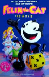 Felix the Cat: The Movie poster (original 26x40 video poster)