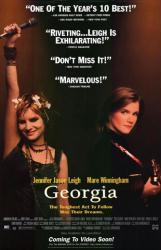 Georgia movie poster [Jennifer Jason Leigh, Mare Winningham] 26x40