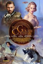 The Golden Compass movie poster [Daniel Craig/Nicole Kidman/Eva Green]
