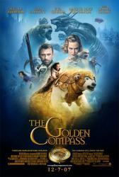 The Golden Compass movie poster [Nicole Kidman/Daniel Craig/Eva Green]