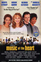 Music of the Heart poster [Meryl Streep/Gloria Estefan/Angela Bassett]