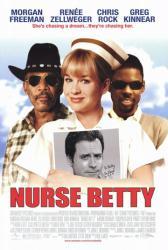 Nurse Betty movie poster [Renee Zellweger, Chris Rock, Morgan Freeman]