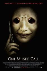 One Missed Call movie poster [2008] original 27x40 one-sheet