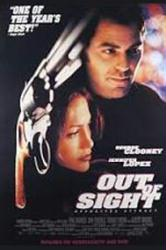 Out Of Sight movie poster [George Clooney & Jennifer Lopez] video