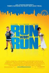 Run, Fat Boy, Run movie poster [Simon Pegg & Thandie Newton]