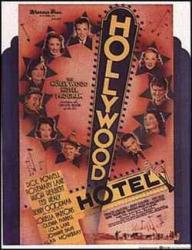 Hollywood Hotel movie poster [Dick Powell] a Busby Berkeley film 22x28