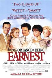 The Importance of Being Earnest movie poster [Firth/Witherspoon] video