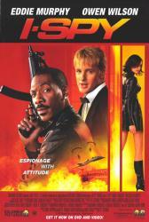 I Spy movie poster [Eddie Murphy, Owen Wilson & Famke Janssen]