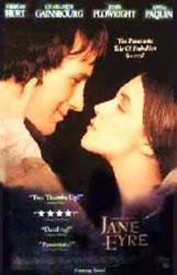 Jane Eyre movie poster [William Hurt & Charlotte Gainsbourg] 26 X 40