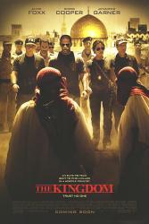 The Kingdom movie poster [Jamie Foxx, Chris Cooper & Jennifer Garner]