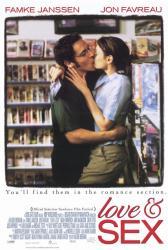 Love & Sex movie poster [Famke Janssen, Jon Favreau] 27x40
