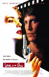 Love Is A Gun movie poster [Eric Roberts & Kelly Preston] video