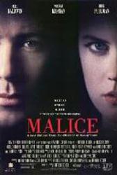 Malice movie poster [Alec Baldwin, Nicole Kidman] 27x40