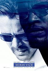 Miami Vice movie poster [Jamie Foxx, Colin Farrell] 27x40