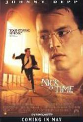 Nick of Time movie poster [Johnny Depp] 27x40 video poster