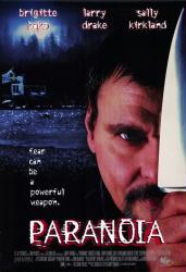 Paranoia movie poster [Larry Drake] 27x40 video poster