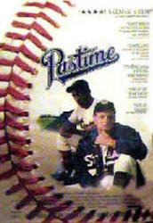 Pastime movie poster (1990) 27x40 video poster