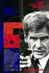 Patriot Games movie poster [Harrison Ford] video poster/GD