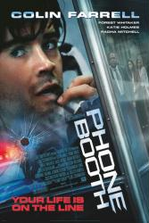 Phone Booth movie poster [Colin Farrell/Katie Holmes/Forest Whitaker]