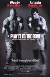 Play It to the Bone movie poster [Harrelson, Banderas] 26x40 NM
