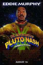 The Adventures of Pluto Nash movie poster [Eddie Murphy] VG