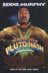 The Adventures of Pluto Nash movie poster [Eddie Murphy] video