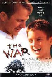 The War movie poster [Kevin Costner & Elijah Wood] video poster/VG