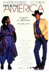 Made In America movie poster [Whoopi Goldberg, Ted Danson] 27x40 Good