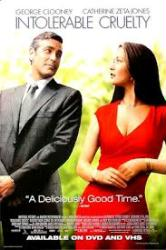 Intolerable Cruelty poster [George Clooney/Catherine Zeta-Jones] video