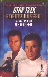 Star Trek: Enemy Unseen paperback book/1990 [by V.E. Mitchell]